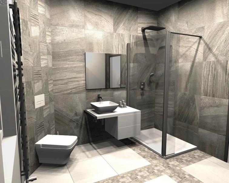 3D návrh kúpeľne