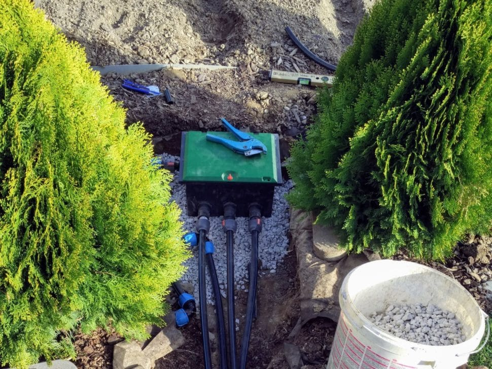 automatické zavlažovanie ventily gardena