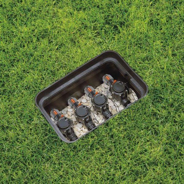 ventily automatického zavlažovania gardena