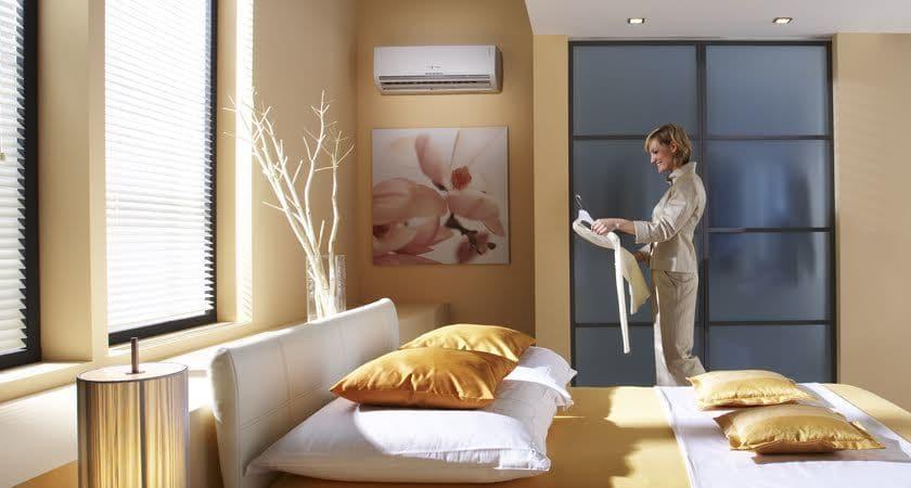 Vnútorná klimatizácia vychladenie miestnosti