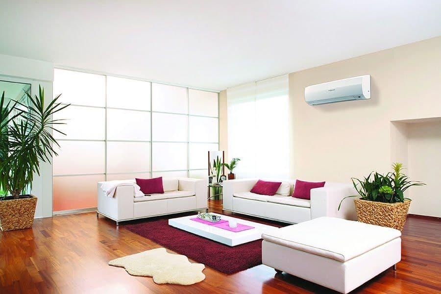 Vnútorná závesná klimatizácia Viessmann jednotka do bytu